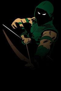 Green Arrow Minimal 4k