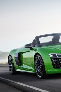1440x2960 Green Audi R8