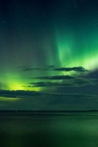 640x1136 Green Aurora Boreali 5k