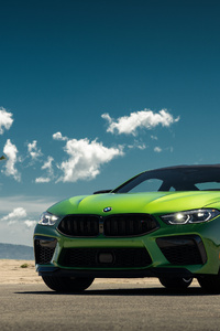 1080x2160 Green Bmw 4k