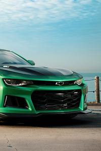 Green Camaro 4k