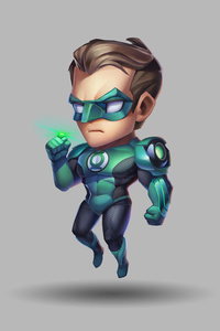 1440x2560 Green Lantern Art