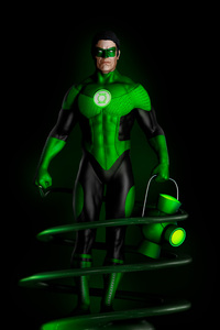 720x1280 Green Lantern Fan Art