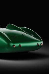 Green The Aston Martin DB1 Rear