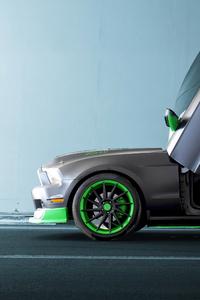 1280x2120 Greenwolf Mustang 4k