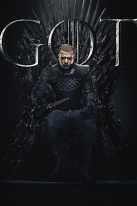 Grey Worm Game Of Thrones Season 8 Poster