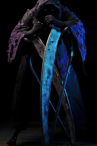 Grim Reaper Cosplay 4k