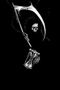 480x854 Grim Reaper Fantasy Art
