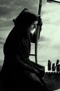 750x1334 Grim Reaper In Seventh Seal Movie