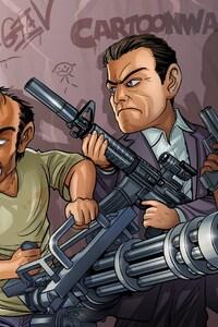 GTA V Game Art