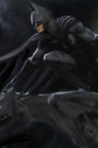 Guardian Of Gotham 8k