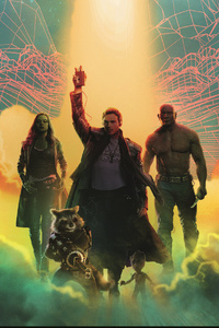 Guardians Of The Galaxy 4k Art