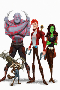 Guardians Of The Galaxy 5k Art