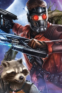 Guardians Of The Galaxy Volume 2 Artwork