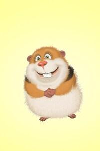 1242x2688 Guinea Pig Hamster