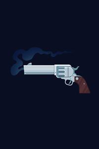 480x854 Gun Art 4k