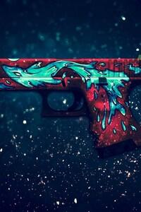Gun Digital Art
