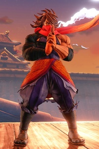 Guy Zeku Street Fighter V