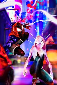 Gwen And Spider