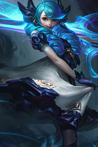 1080x2280 Gwen Base League Of Legends 4k