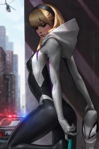 540x960 Gwen Stacy Artwork 4k 2020
