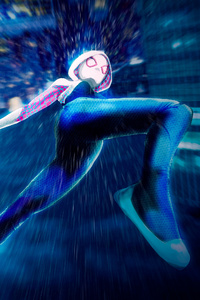 640x960 Gwen Stacy Spider Man Into The Spider Verse 4k