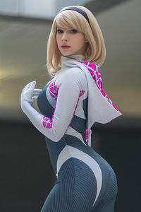 Gwen Stacy4k Cosplay