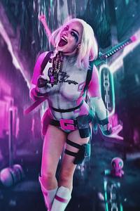 Gwenpool X Harley Quinn