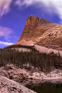 2160x3840 Ha Ling Peak Moonlight Mountains 4k