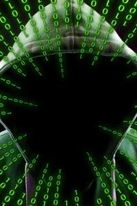 Hacker Attack Binary Code