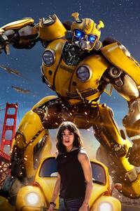 640x1136 Hailee Steinfeld In Bumblebee Movie 2018 Poster