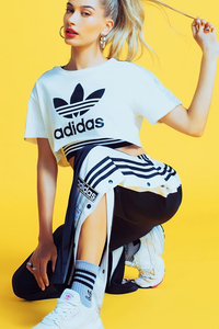 Hailey Baldwin Adidas 4k