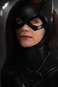 1242x2688 Haley Lu Richardson As Batgirl