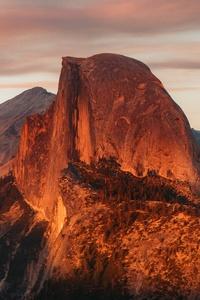 320x480 Half Dome Granite Dome In California