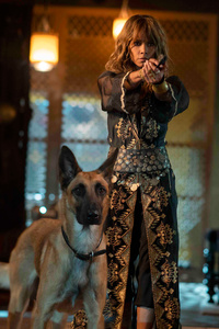 240x320 Halle Berry In John Wick Chapter 3 Parabellum 2019