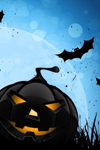 Halloween Bat 4k