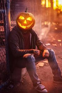 1125x2436 Halloween Boy 4k