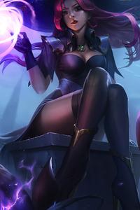1080x2160 Halloween Fantasy Witch 4k