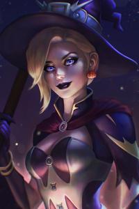 Halloween Mercy 4k