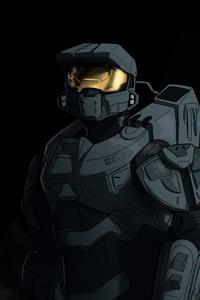 1440x2960 Halo 5 Hope Minimal 5k
