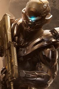 1080x2280 Halo 5 Locke
