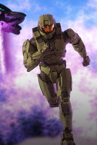 240x320 Halo Armor Outrunning Death
