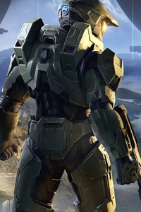 320x480 Halo Infinite 8k