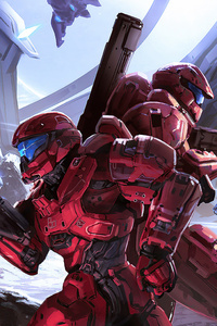 720x1280 Halo Loot Crate 4k