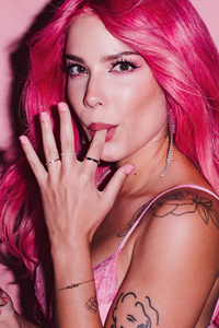 1440x2560 Halsey Magnum Campaign True To Pleasure 2020