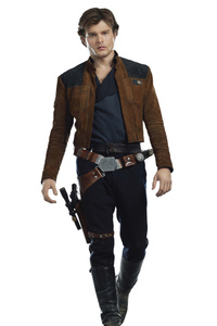 Han Solo In Solo A Star Wars Story Movie 2018
