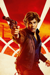 Han Solo In Solo A Star Wars Story Movie