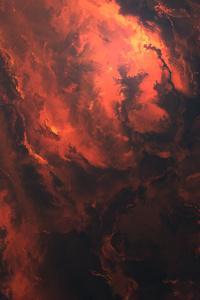 1080x2160 Hand Of Nebula 4k