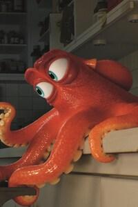 Hank Octopus In Finding Dory