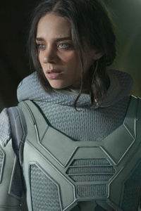 Hannah John Kamen As Ava In Ant Man And The Wasp Movie